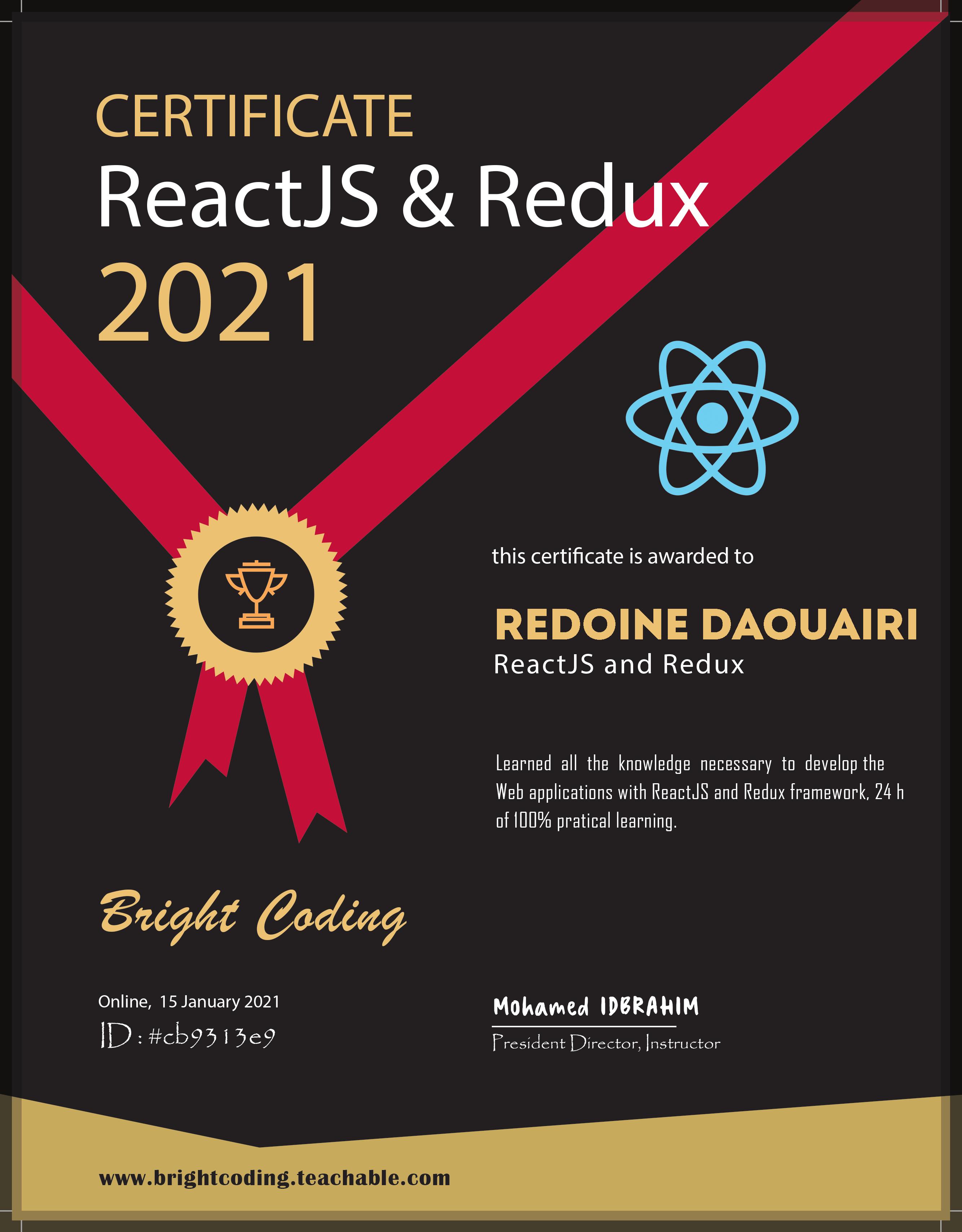 React JS + REDUX + HOOKS
